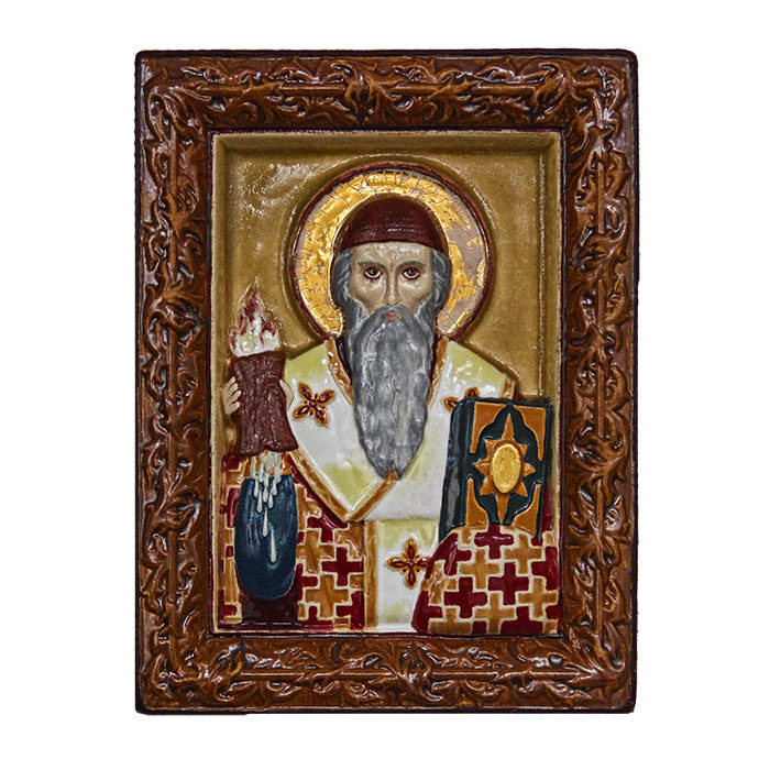 Icon of St. Spyridon Trimifuntsky