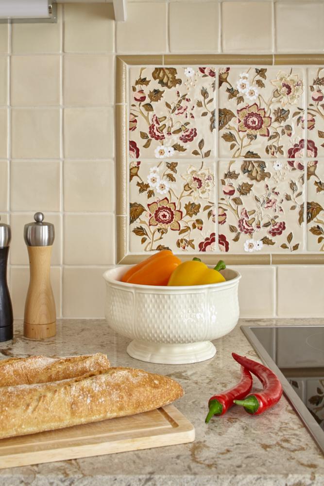 плитка ручной работы для кухни