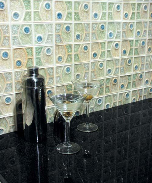 Рельефная плитка от дизайнеров студии Плакарт