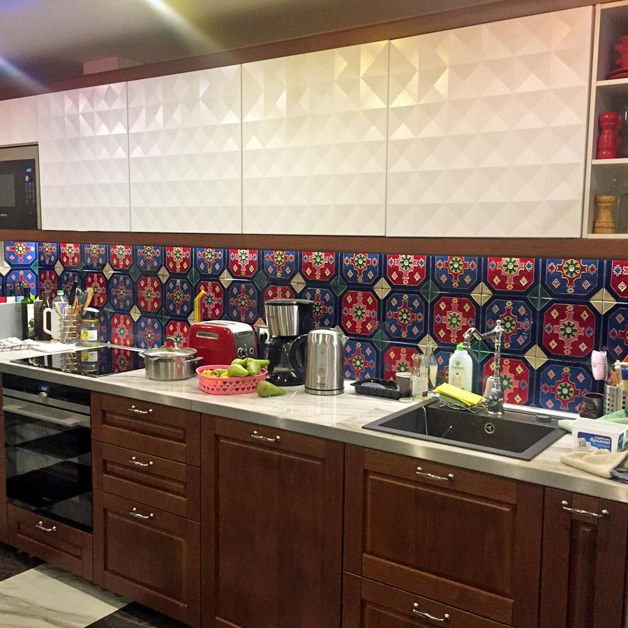 Плитка панно для кухни