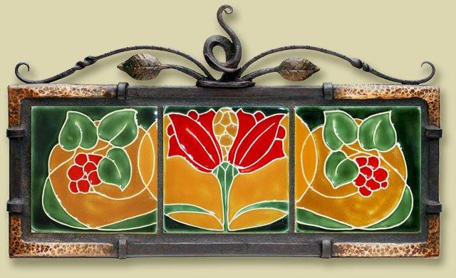 Рельефная плитка для декора