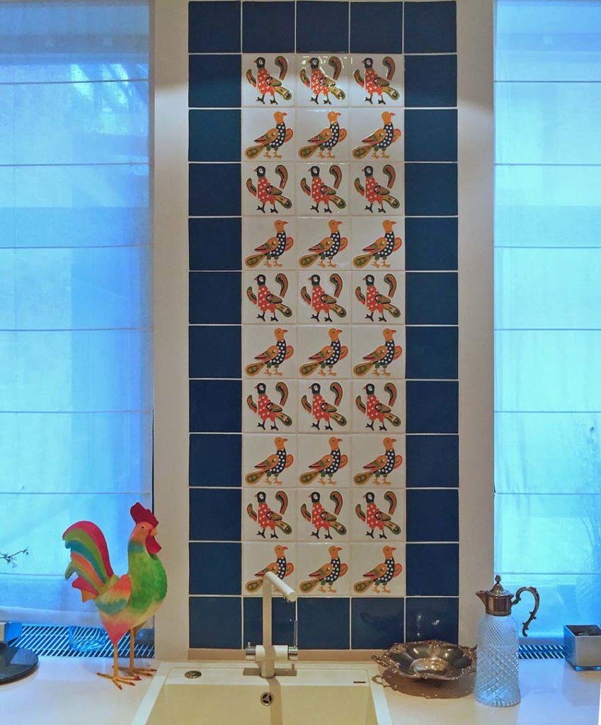 Птички на плитке