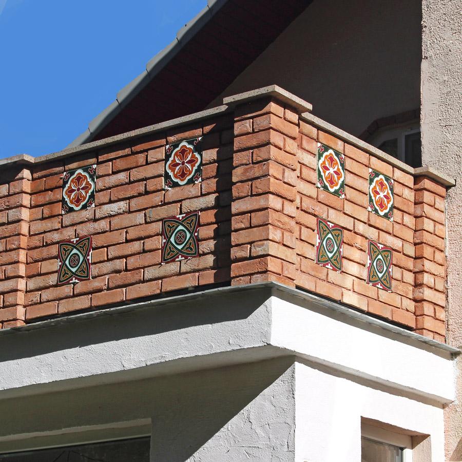 Вставки из керамической плитки для декорирования